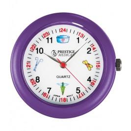 Medical Symbol Stethoscope Watch #1689-Purple