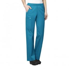 WonderWork Women's Elastic Waist Petite Pants #501P