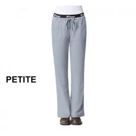 Active by Grey's Anatomy Women's Straight Leg Drawstring  PETITE Scrub Pant # 4275P