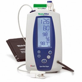 Welch Allyn Spot Vital Signs with BP, Masimo Pulse Oximetry, and SureTemp Thermometer  #42MTB-E-1
