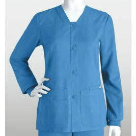 Grey's Anatomy Women's Sporty Button Front Jacket #4435