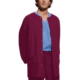 Cherokee Workwear Men's Snap Front Warm-Up Jacket #4450