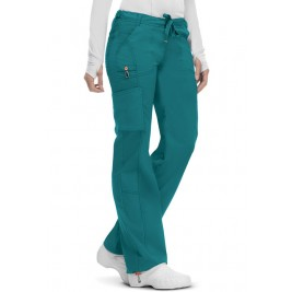 Code Happy Low Rise Straight Leg Drawstring Pant #46000AT