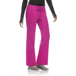 Code Happy Mid Rise Moderate Flare Drawstring Pant #46002ABP