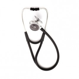 Welch Allyn® Tycos® Harvey™ DLX Triple-head Stethoscope #5079-321, Black
