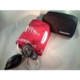 Welch Allyn Tycos DS48 Pocket Aneroid Sphygmomanometer  with LARGE ADULT Cuff  #5090-41