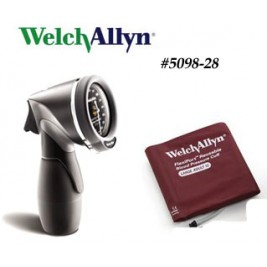 Welch Allyn DS66 Trigger Aneroid #5098-28 - Large Adult Cuff