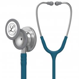 3M™ Littmann® Classic III™ Monitoring Stethoscope, Caribbean Blue Tube, 27 inch, 5623