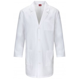 "Dickies 37"" Unisex Lab Coat #83402AB"