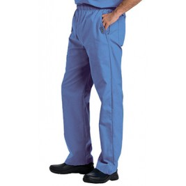 Landau Men's Elastic with Zipper Fly TALL Scrub Pants #8550T