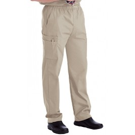 Landau Men's Cargo Pocket with Zipper Fly Scrub Pants #8555