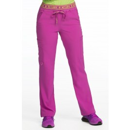 Activate by Med Couture Women's Contemporary  Elastic Waist Scrub Tall Pant #8758T