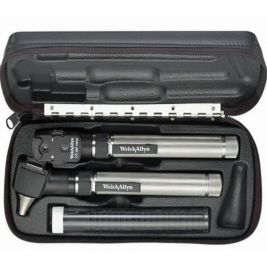 Welch Allyn 92820 PocketScope Set with AA Batteries & Hard Case #92820
