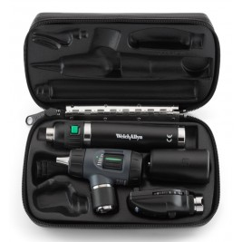Welch Allyn Diagnostic Set with Macroview Otoscope #23810 and Standard Ophthalmoscope Head #11710 and Lithium-ion Handle  #97150-MS