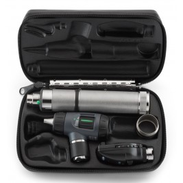 Welch Allyn Diagnostic Set Welch Allyn Diagnostic Set with Macroview Otoscope #23820 and Coaxial Ophthalmoscope #11720 and Ni-Cad Handle & Convertor #97200-MC