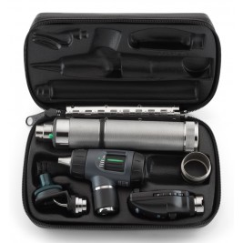 Welch Allyn Diagnostic Set with Macroview Otoscope #23820 and Coaxial Ophthalmoscope #11720 and Ni-Cad Handle & Nasal Illuminator  & Battery Converter #97210-MC