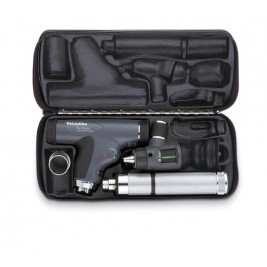 Welch Allyn PanOptic Diagnostic Set  #97810-MC (Student Edition) with Macroview Otoscope #23820, Panoptic Ophthalmoscope #11820, Nasal Illuminator, and Ni-Cad Handle