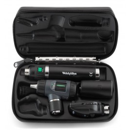 Welch Allyn Diagnostic Set WITH Macroview Otoscope #23810, Coaxial Ophthalmoscope #11720 and Lithium-ion Handle  #97250-MS