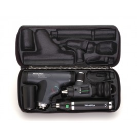 Welch Allyn PanOptic Diagnostic Set #97810-MS (Student Ed.) with Macroview Otoscope #23820, PanOptic Ophthalmoscope #11820, Nasal Illuminator and Lithium-ion Handle