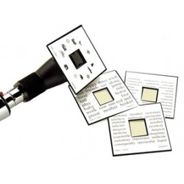 Welch Allyn Fixation Card Set for Retinoscopes; Qty. 4  #18250