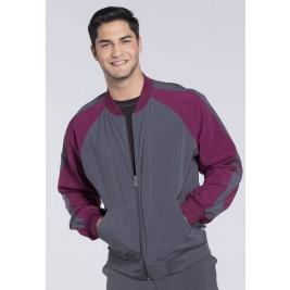 Cherokee Men's Colorblock Zip Up Warm-Up Jacket #CK330A