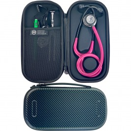 Pod Technical Classic Micro Stethoscope Case- Carbon Finish