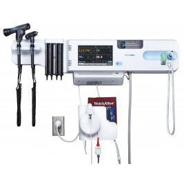 Connex Wall System with BP, Nellcor SpO2, SureTemp Thermometer, PanOptic Ophthalmoscope & Otoscope #84NTVXP-B
