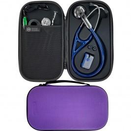 Pod Technical Cardiopod II Hard Stethoscope Case - Purple