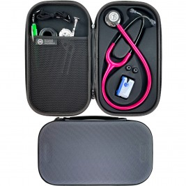 Pod Technical Cardiopod II Hard Stethoscope Case - Smoke