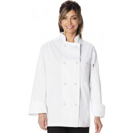 Dickies Chef Unisex Classic 8 Button Chef Coat #DC45