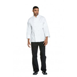 Dickies Chef Unisex Classic 10 Button Chef Coat #DC47