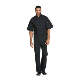Dickies Chef Unisex Classic 10 Button Chef Coat S/S #DC49