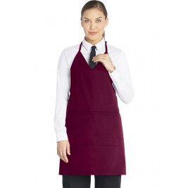 Dickies Unisex Chef Bib Apron/Tuxedo Style #DC53