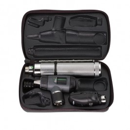 Welch Allyn Diagnostic Set with 11710 Ophthalmoscope and 23820 MacroView Otoscope  #97100-M