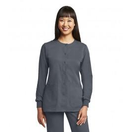 Grey's Anatomy Women's Round Neck Warm-Up Scrub Jacket #4450G