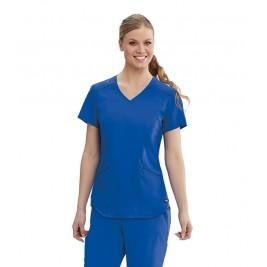 "Grey's Anatomy Women's ""Avana"" Solid Scrub Top #GRT122"
