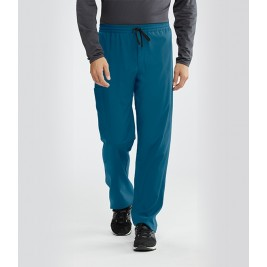 """Barco Motion Men's """"Jake"""" 5 Pocket Cargo Drawstring Scrub Pant #MOP016"""
