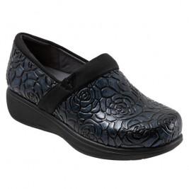 Softwalk Meredith Sport Nursing Shoe  #S1990-942  Rose Embossed