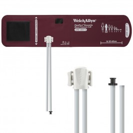Welch Allyn FlexiPort Blood Pressure Cuff; Size-12 Large Adult, Reusable, 2-Tubes #Resue-12-2TP