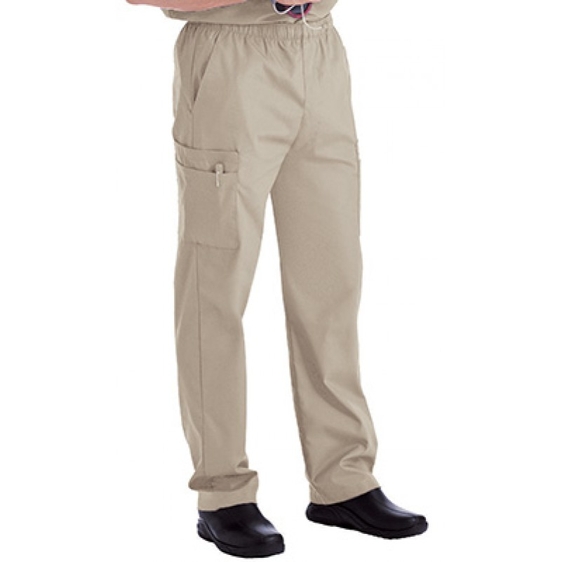 cd2bc002aa3 Landau Men's Cargo Pocket with Zipper Fly Scrub Pants 8555 ...