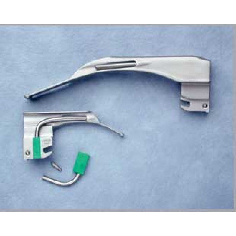 Laryngoscope Set Adc Adc Fiber Optic Macintosh Laryngoscope Blades 4072f Size 2