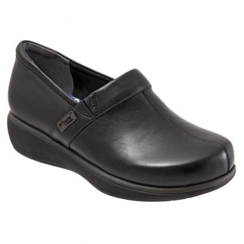 grey s anatomy meredith softwalk nursing shoe all black