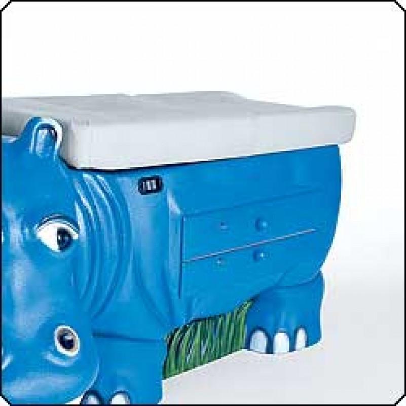 Zoo Pals Hippo Exam Table