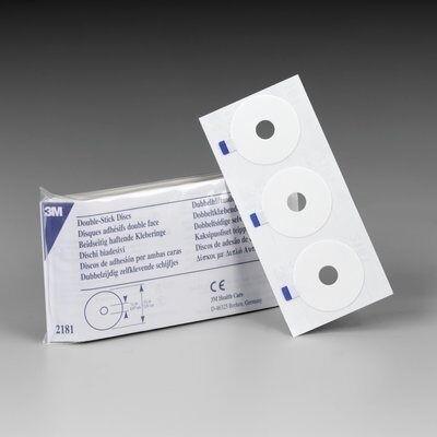 3M™ Double Stick Discs, 102 each/pack, 6 pack/case, 2181-Case