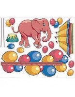 Zoo Pals Circus Theme Decal Kit #100110