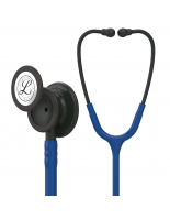 3M™ Littmann® Classic III™ Monitoring Stethoscope, Black-Finish Chestpiece, Navy Blue Tube, 27 inch, 5867