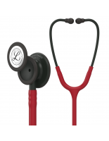 3M™ Littmann® Classic III™ Monitoring Stethoscope, Black-Finish Chestpiece, Burgundy Tube, 27 inch, 5868