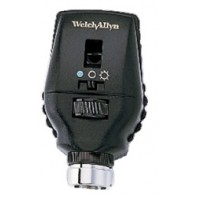 Welch Allyn 3.5V Coaxial-Plus Ophthalmoscope (gold) #11735