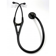 OOPS-2161-8 3M™ Littmann® Master Cardiology™ Stethoscope, Black Plated Chestpiece and Eartubes, Black Tube, 27 inch