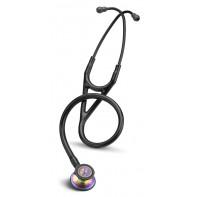 "DEMO 3M™ Littmann® Cardiology III™  Stethoscope - 27"" Total Length -Bk/Rainbow  #3152RBW"